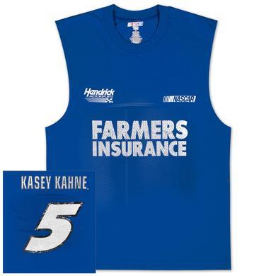 Hendrick Motorsports Kasey Kahne #5 Farmers Sleeveless Shooter T-shirt