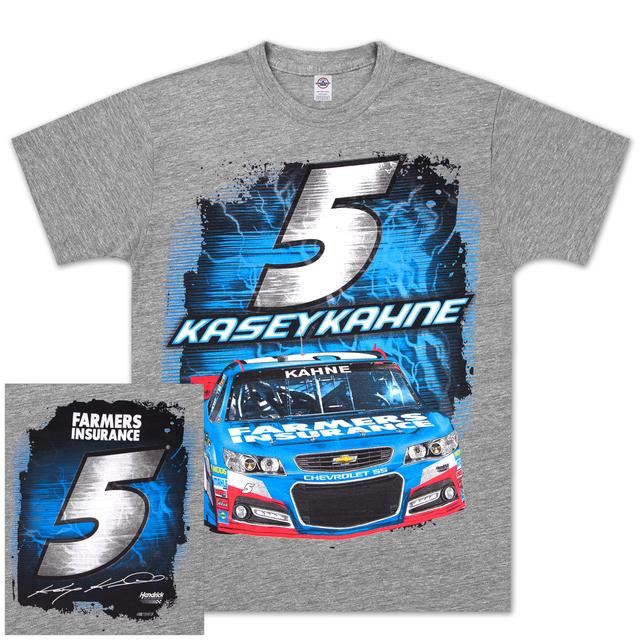 Hendrick Motorsports Kasey Kahne #5 Farmers Silver Streak T-shirt