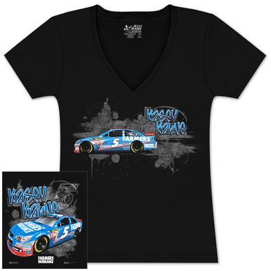 Hendrick Motorsports Kasey Kahne #5 Farmers Fabricator Ladies T-shirt