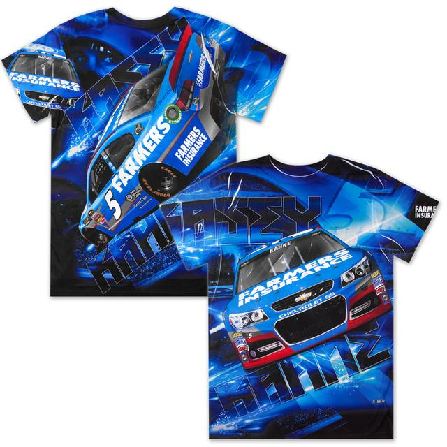 Hendrick Motorsports Kasey Kahne #5 Farmers Aerodynamic Sublimated T-shirt