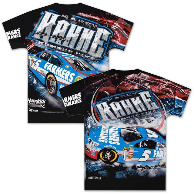 Hendrick Motorsports Kasey Kahne #5 Farmers Extreme Total Print T-shirt