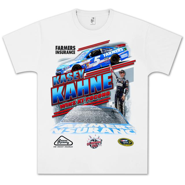 Hendrick Motorsports Kasey Kahne 2013 GoBowling.com 400 Win T-shirt