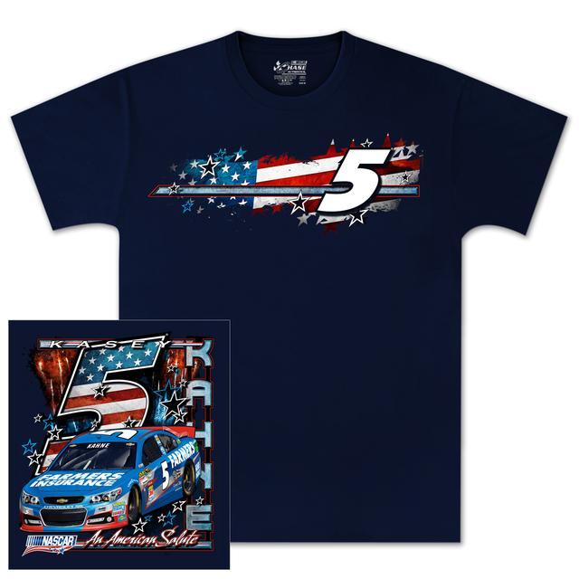 Hendrick Motorsports Kasey Kahne #5 Farmers American Salutes T-shirt