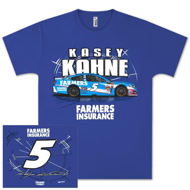 Hendrick Motorsports Kasey Kahne #5 Farmers SideSwipe T-shirt