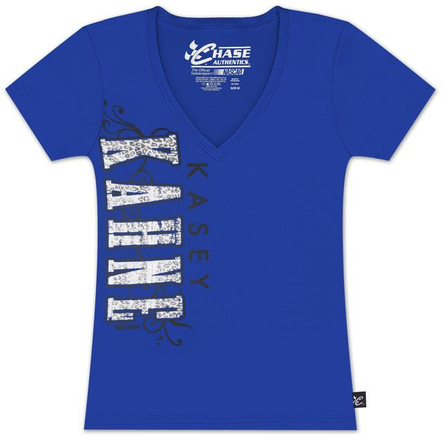 Hendrick Motorsports Kasey Kahne #5 Ladies Drive By T-shirt