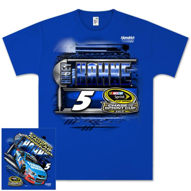 Hendrick Motorsports Kasey Kahne #5 Farmers 2013 Chase for Cup T-shirt
