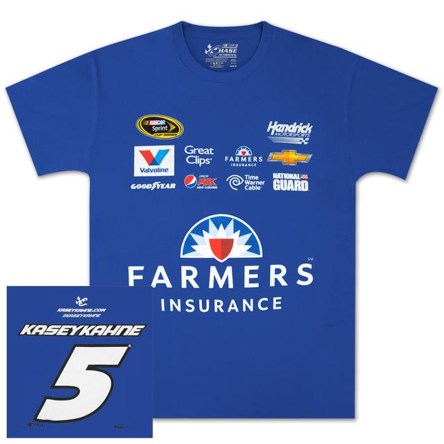 Hendrick Motorsports Kasey Kahne #5 Farmers Uniform T-shirt