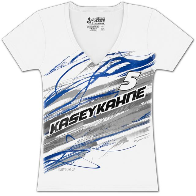 Hendrick Motorsports Kasey Kahne #5 Ladies Lightning Fashion T-shirt