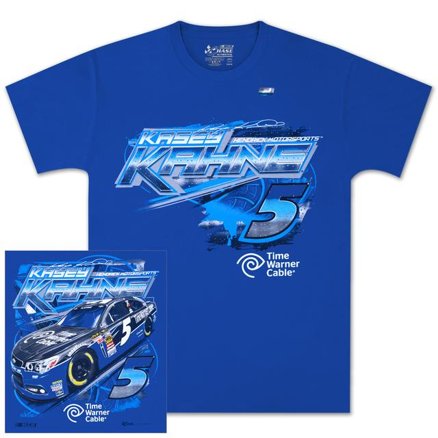 Hendrick Motorsports Kasey Kahne #5 Time Warner Cable Chassis T-shirt