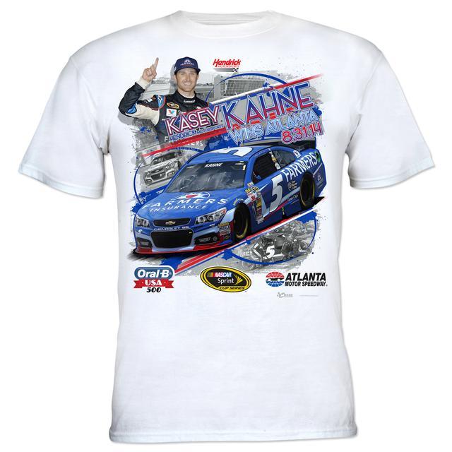 Hendrick Motorsports Kasey Kahne #5 2014 Oral-B USA 500 Race Winner T-shirt PRE-ORDER
