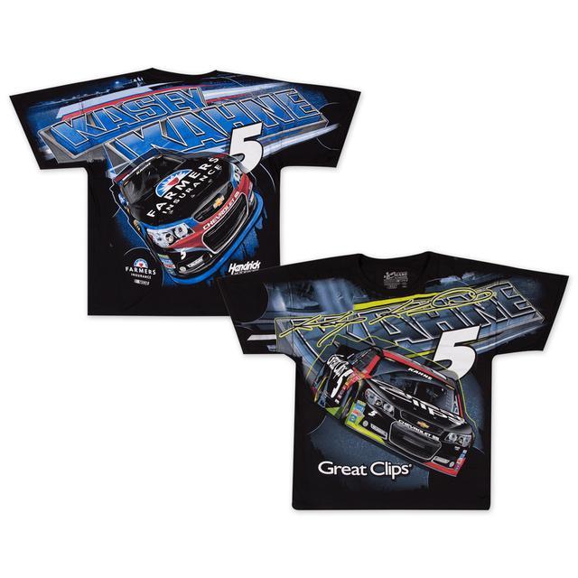Hendrick Motorsports Kasey Kahne 2015 Chase Authentics Adult Total Print Tee