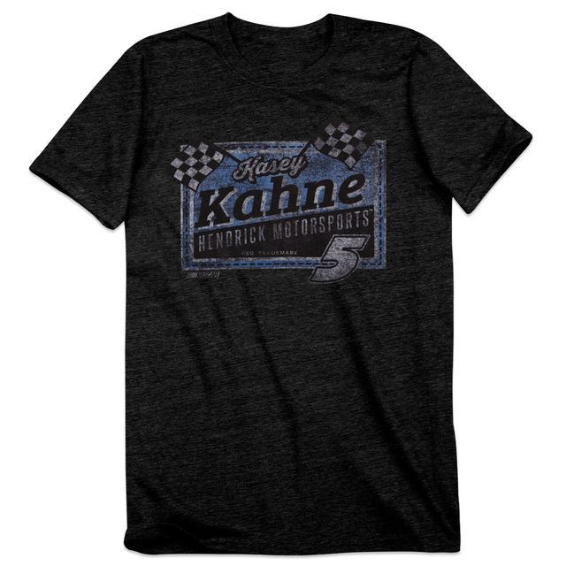 Hendrick Motorsports Kasey Kahne #5 Men's Vintage Finish Line T-Shirt