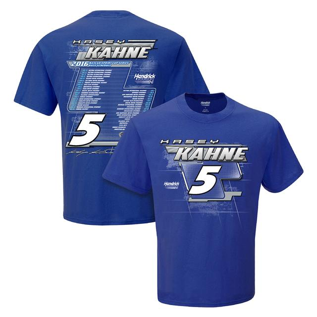 Hendrick Motorsports Kasey Kahne #5 2016 S/S Schedule T-Shirt