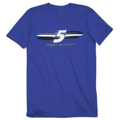 Hendrick Motorsports Kasey Kahne #5 Adult Fan Up Tee