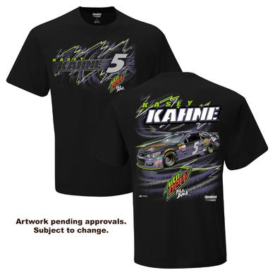 Hendrick Motorsports Kasey Kahne #5  Mountain Dew Pitch Black T-Shirt