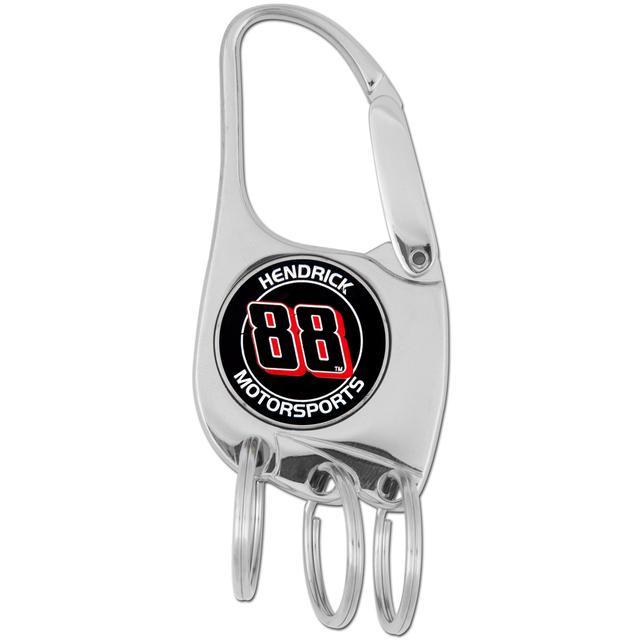 Hendrick MotorSports #88 3 Ring Clip Key Chain