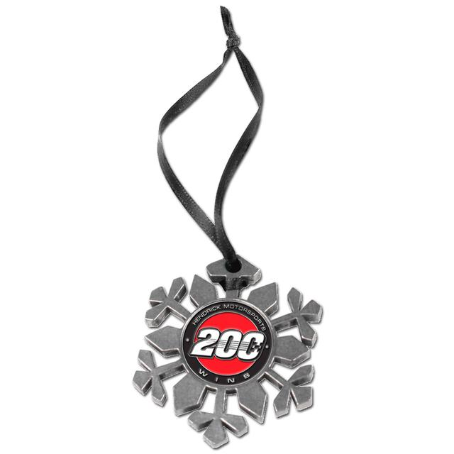 EXCLUSIVE Hendrick Motorsports 200th Win Snowflake Ornament
