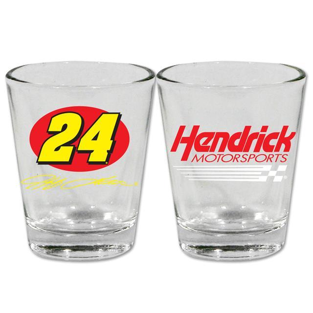 Hendrick Motorsports #24 2oz Shot Glass
