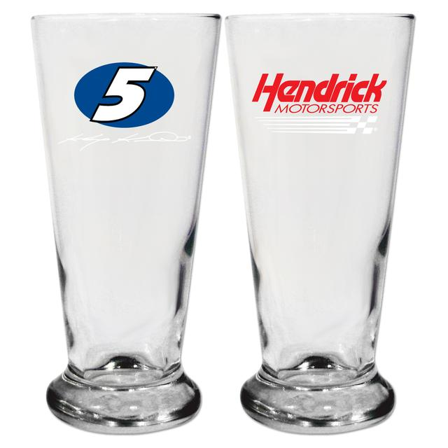 Hendrick Motorsports #5 16.5oz Pilsner Glass