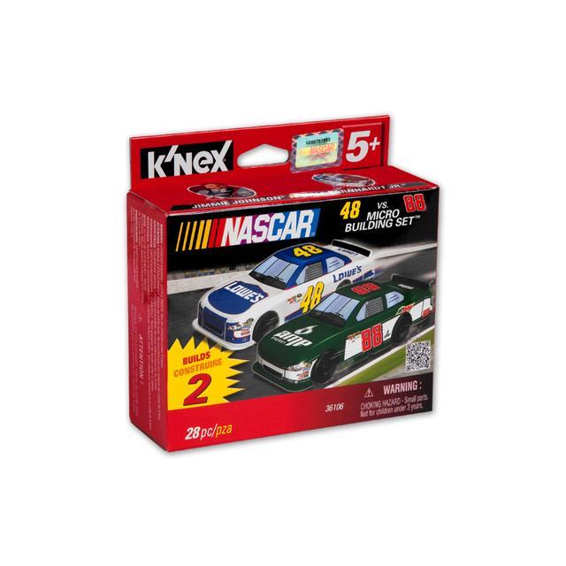 Hendrick Motorsports Dale Jr vs Jeff Gordon K'NEX Micro Scale Cars