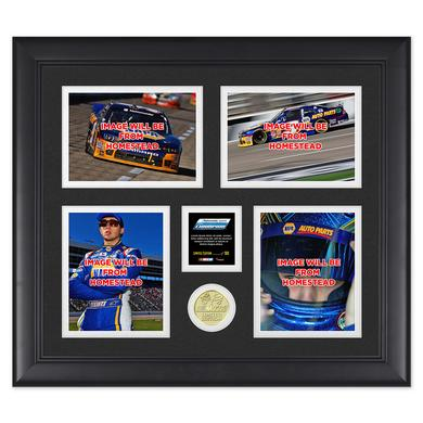 Hendrick Motorsports Chase Elliott 2014 Nationwide Champion Framed 15x17 Collage w/ Coin LTD Edition of 500