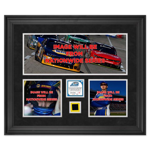 Hendrick Motorsports Chase Elliott 2014 Nationwide Champion Deluxe Framed 20x24 Collage w/ Race-Used Tire LTD Edition of 109