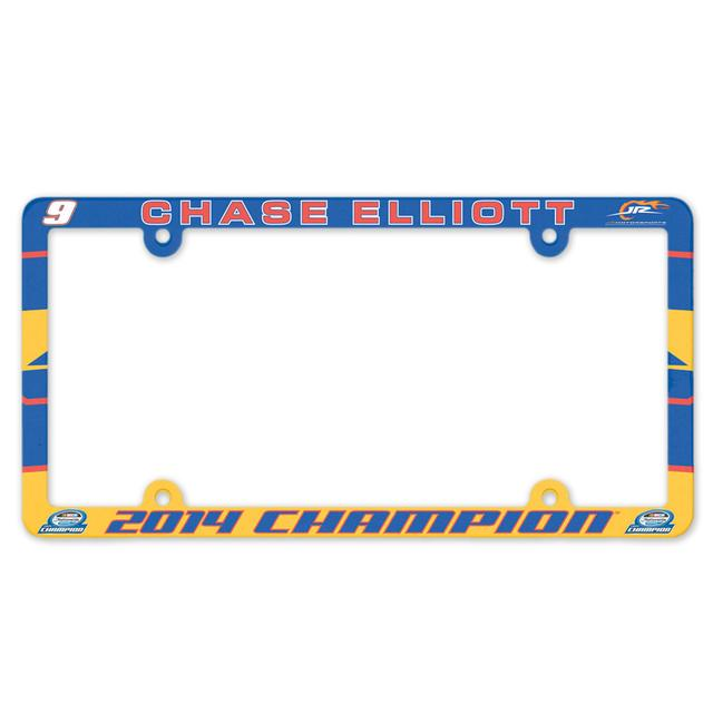 Hendrick Motorsports Chase Elliott 2014 Nationwide Series Champ License Plate Frame - Direct Print