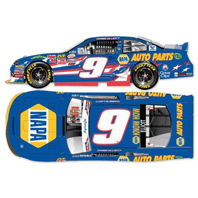 Hendrick Motorsports Chase Elliott 2015 #9 An American Salute 1:24 Scale Nascar Sprint Cup Series Die-Cast