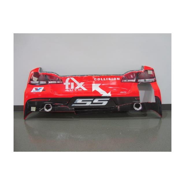 Hendrick Motorsports Jeff Gordon #24 2015 Axalta/Fix Auto Chevrolet Rear Bumper (Missing #24) California 3/22/15