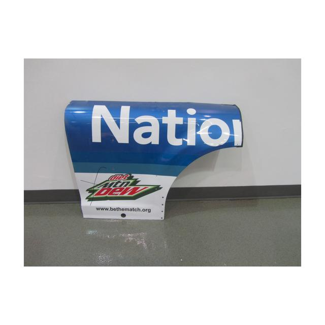 Hendrick Motorsports Dale Jr. #88 2015 Nationwide Insurance Chevrolet Qtr Panel Race Unknown