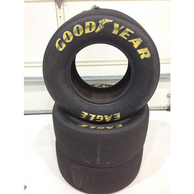 Hendrick Motorsports Jimmie Johnson #48 Kansas Race Used Tire 5/9/15