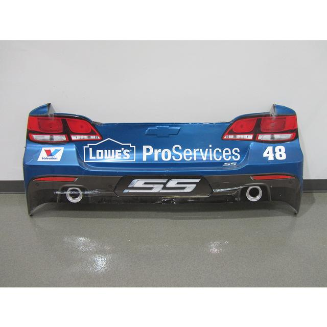 Hendrick Motorsports Jimmie Johnson #48 2015 Lowe's Pro Services Chevrolet Rear Bumper – Race Unknown