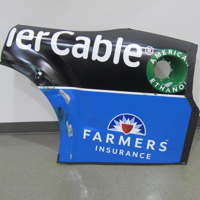 Hendrick Motorsports Race Used Time Warner Cable Rear Qtr - Talladega 10/15/15