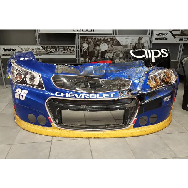Hendrick Motorsports Race Used NAPA Throwback Front Bumper AUTOGRAPHED - Darlington 9/6/15