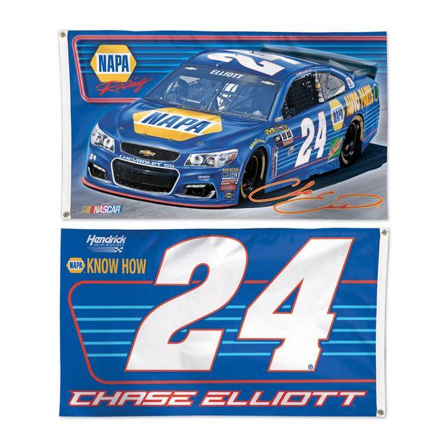 Hendrick Motorsports Chase Elliott #24 2 Sided 3' x 5' Flag