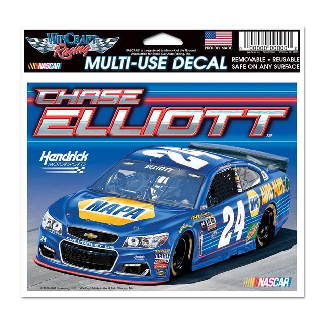 "Hendrick Motorsports Chase Elliott #24 Multi-Use Decal 5"" x 6"""