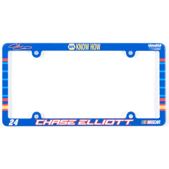 Hendrick Motorsports Chase Elliott #24 License Plate Frame Full Color