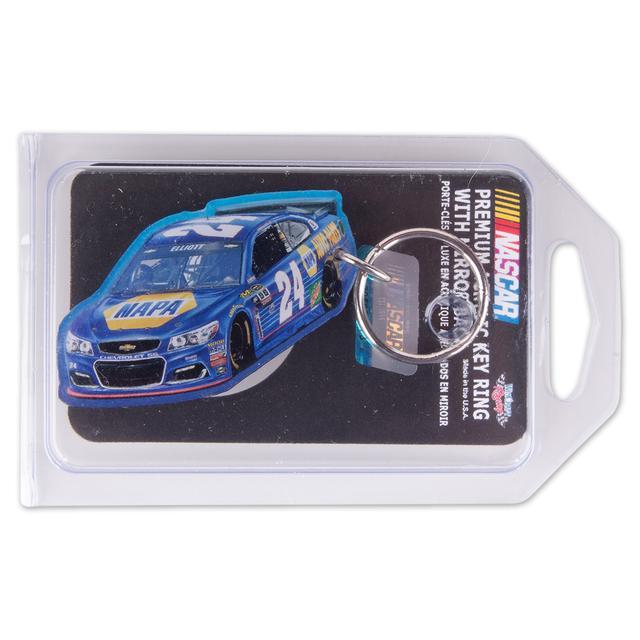 Hendrick Motorsports Chase Elliott #24 Acrylic Key Ring Prem-Mirrored