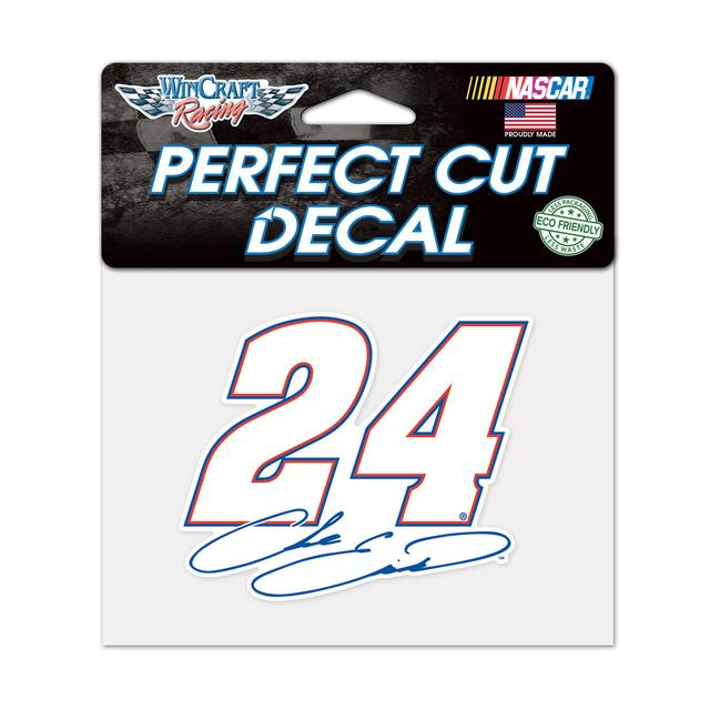 "Hendrick Motorsports Chase Elliott #24 Perfect Cut Color Decal 4.5"" x 5.75"""