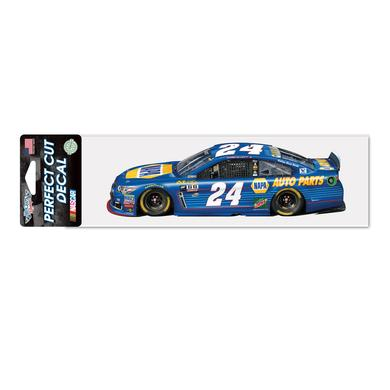 "Hendrick Motorsports Chase Elliott #24 Perfect Cut Decal 3"" x 10"""