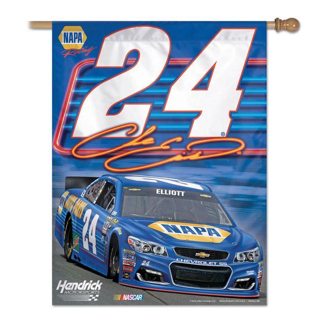"Hendrick Motorsports Chase Elliott #24 Vertical Flag 27"" x 37"""