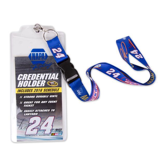 Hendrick Motorsports Chase Elliott #24 Credential holder w/ Lanyard