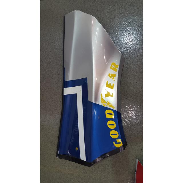 Hendrick Motorsports Race Used Lowe's Fender - Race Unknown 2015