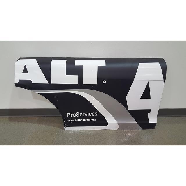 Hendrick Motorsports Race Used Kobalt Tools Door/Qtr Panel - Race Unknown 2015