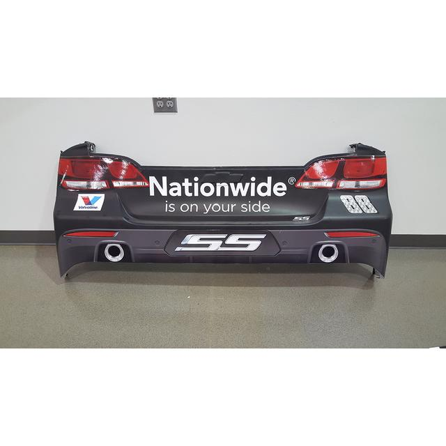 Hendrick Motorsports Race Used Nationwide Insurance Rear Bumper - Race Unknown 2015