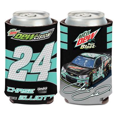 Hendrick Motorsports Chase Elliott #24 Mountain Dew Baja Blast Koozie