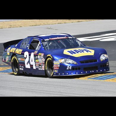 Hendrick Motorsports Chas Elliott 2016 #24 NAPA Sonoma WIN 1:24 Scale NASCAR K&N Pre Series West Die-Cast
