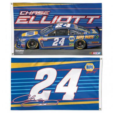 Hendrick Motorsports Chase Elliott 2-sided Flag - 3' x 5'
