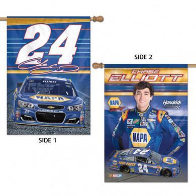 "Hendrick Motorsports Chase Elliott 2-sided Vertical Flag - 28"" x 40"""