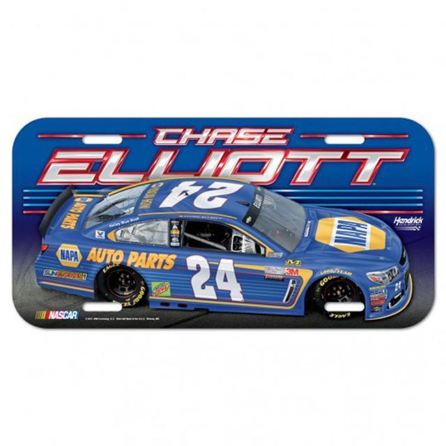 """Hendrick Motorsports Chase Elliott License Plate - 6"""" x 12"""""""